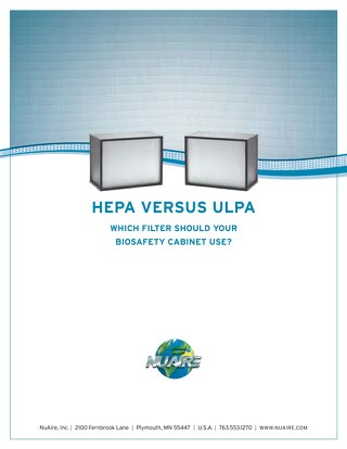 [White Paper] HEPA versus ULPA Filters