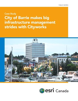 City of Barrie makes big infrastructure management strides with Cityworks