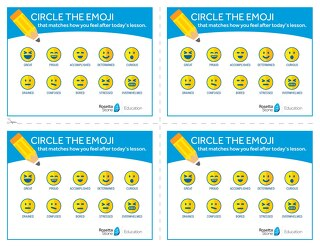 Emoji Lesson Cards