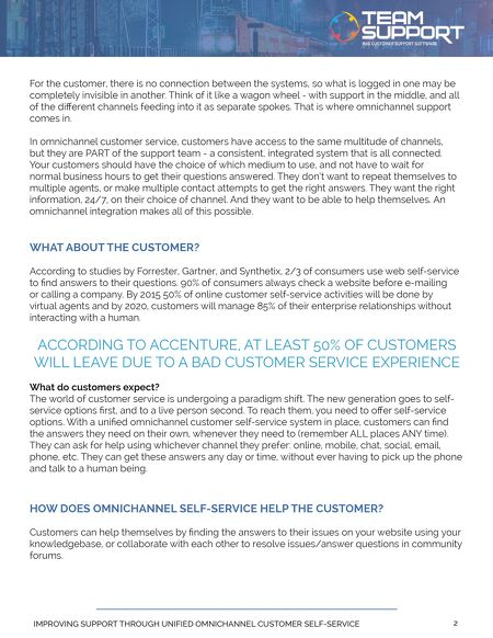 customer service experience answers
