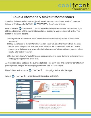 Moments How-To