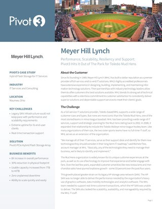 Meyer Hill Lynch - Hybrid Flash Storage for IT Services