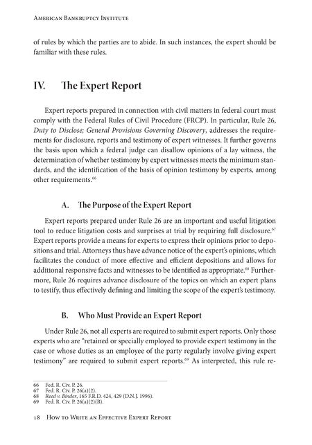 Ebooks how to write an effective expert report fandeluxe Images