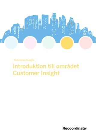 White paper: En introduktion till området Customer Insight