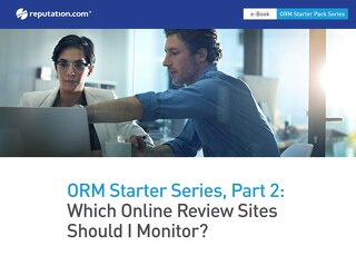 Online Reputation Management Starter Series: What Online Review Sites Should I Monitor?