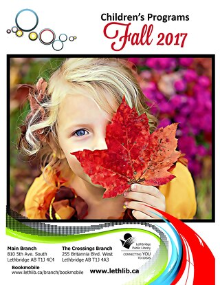 Children's Programs Fall 2017 (Updated)