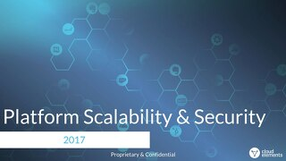 Platform Scalability & Security