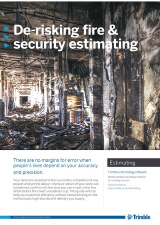De-risking Fire & Security