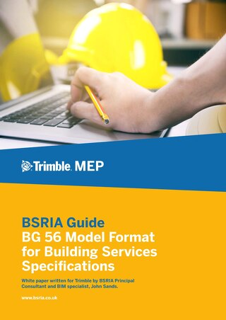 BG 56 Model Format for Building Services Specifications