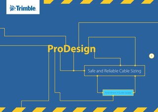 Safe & Reliable Cable Sizing