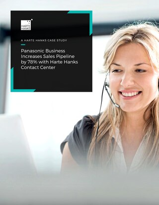 Panasonic Business Increases Sales Pipeline by 78% with B2B Contact Center Solution