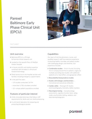 Baltimore EPCU Fact Sheet