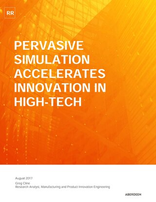 Pervasive Simulation Accelerates Innovations in High-Tech