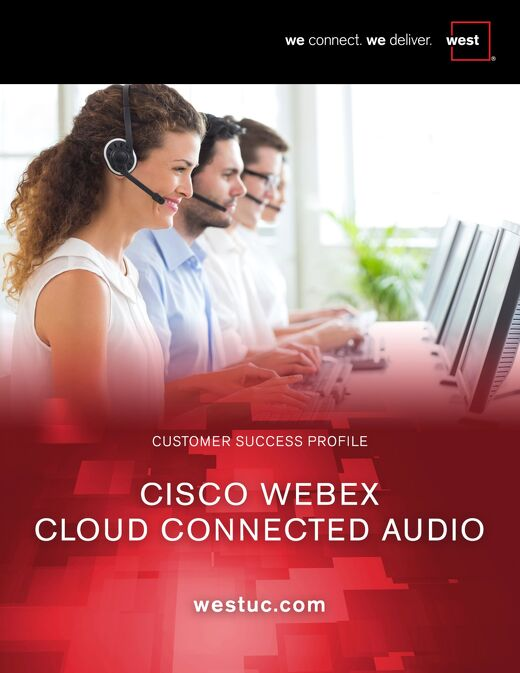 Cisco Webex Cloud Connected Audio