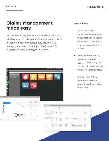 Claims management made easy