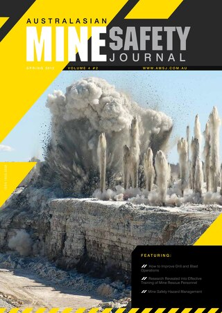 Australasian Mine Safety Journal Vol 4 Issue 2 Spring 2012