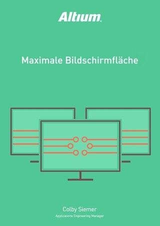 MAXIMALE BILDSCHIRMFLÄCHE