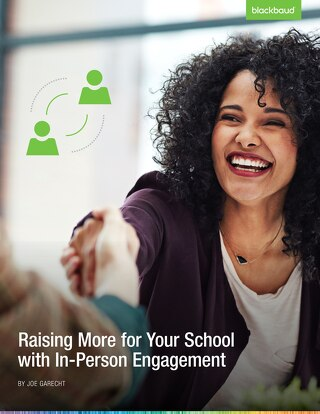 Raising More for Your School with In-Person Engagement