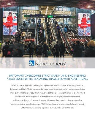Britomart Overcomes Strict Safety Challenges to Engage Travelers with LED Displays