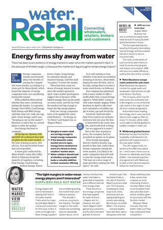 Water. Retail Issue 12