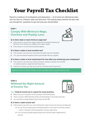 us-payroll-taxes-checklist 2020