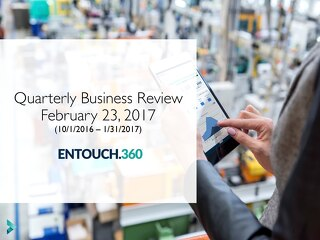 ENTOUCH.360 Quarterly Business Review Sample