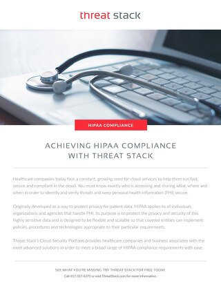 HIPAA Compliance with Threat Stack