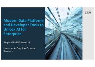 Modern Data Platforms and Developer Tools to Unlock AI for Enterprise