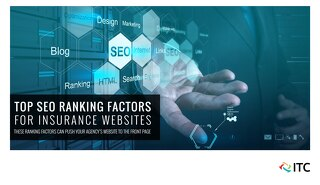 Top SEO Ranking Factors for Insurance Websites