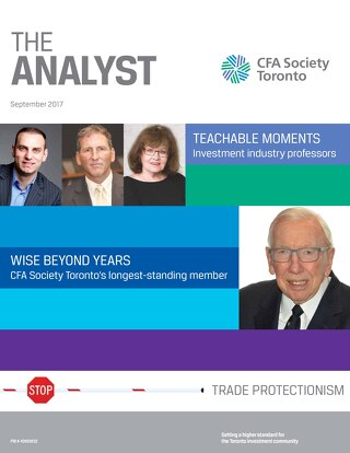 The Analyst - September 2017