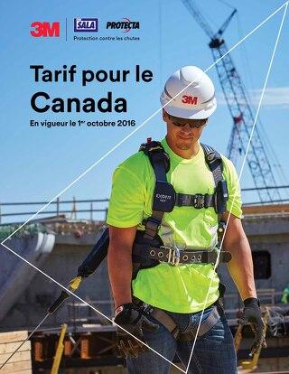 Tarif pour le Canada 2017