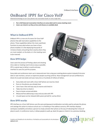 OnBoard IPPI for Cisco VoIP
