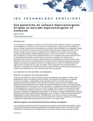 IDC Spotlight - Spanish