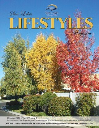 Sun Lakes Lifestyles Oct. 2017
