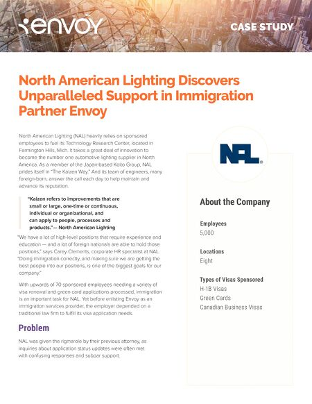 case studies north american lighting discovers unparalleled