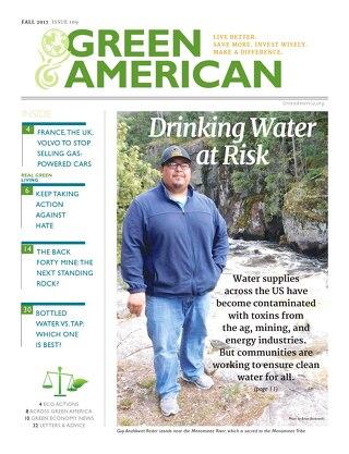 Green American #109, Fall 2017