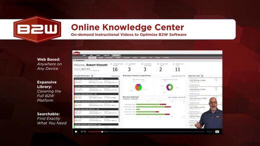 B2W Online Knowledge Center