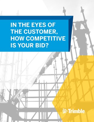 In the Eyes of the Customer, How Competitive is Your Bid?