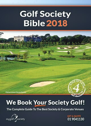 The Golf Society Bible 2018