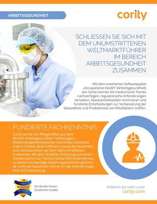 EHSQ Überblick - Arbeitsgesundheit