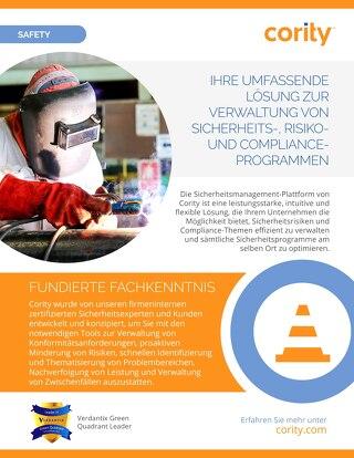 EHSQ Überblick - Betriebssicherheit