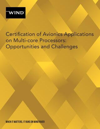 Certification of Avionics Applications on Multi-core Processors: Opportunities and Challenges