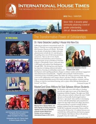 I-House Times Fall 2012