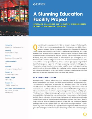 A Stunning Education Facility Project
