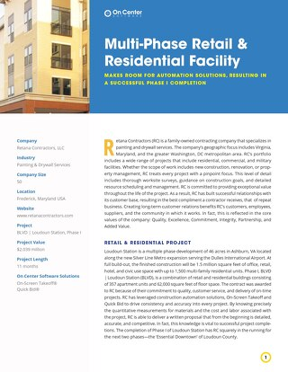 Multi-Phase Retail & Residential Facility