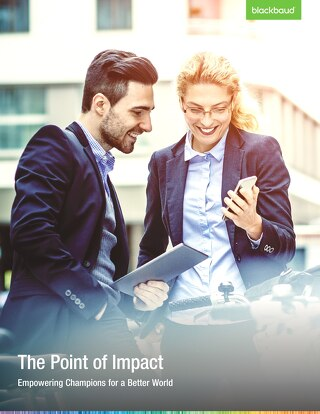 The Point of Impact: Empowering Champions for a Better World