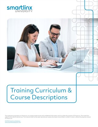 SmartLinx Training Curriculum & Course Descriptions