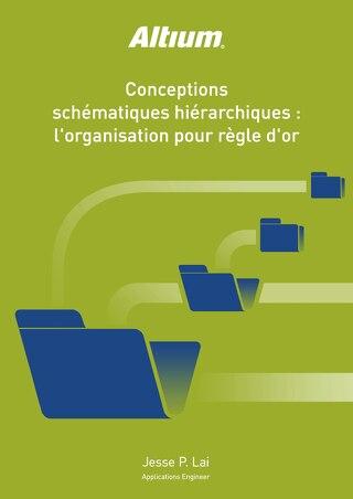 CONCEPTIONS SCHÉMATIQUES HIÉRARCHIQUES: L'ORGANISATION POUR RÈGLE D'OR