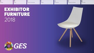 Exhibitor Furniture 2018