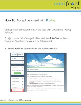 How to Accept Payment with ProPay - Mobile App